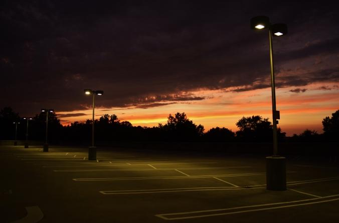 Sunset_lightpoles
