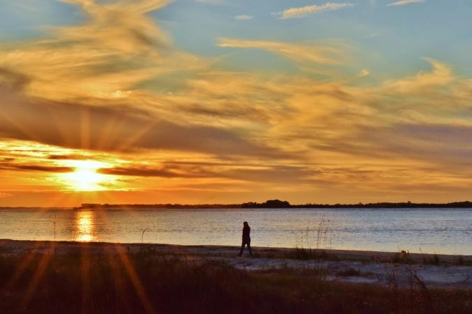 Mom_Edisto_sunset